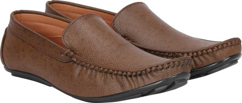 Kraasa Loafers For Men (Brown)