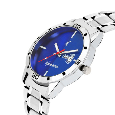 Kraasa KW2006 Day and Date Series Watch  - For Men ()