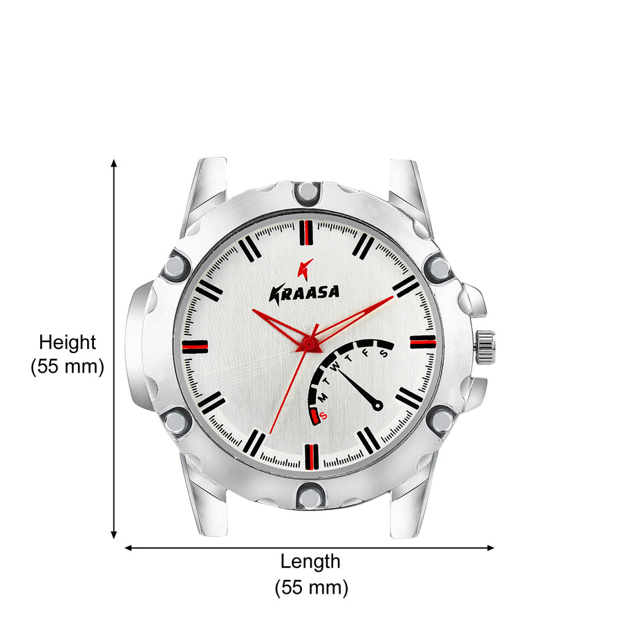 Kraasa KW2011 Time Teacher Watch  - For Men ()