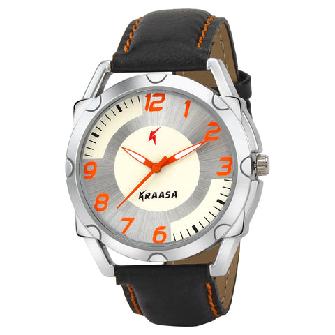Kraasa KW2009 Time Teacher Watch  - For Men ()