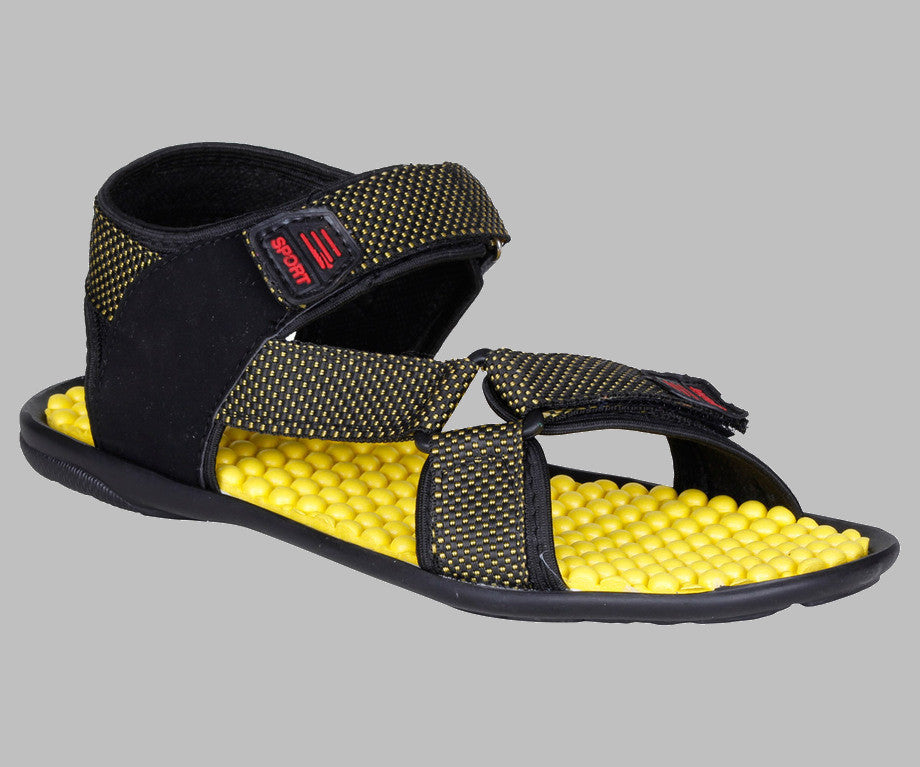 Kraasa Sandals (Yellow) - TheKraasa