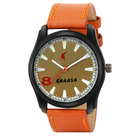 Kraasa KW2010 Time Teacher Watch  - For Men ()