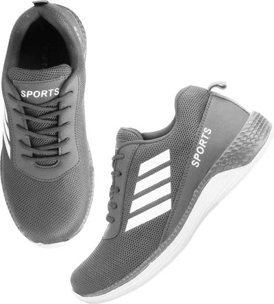 Kraasa Running Shoes For Men (Grey)