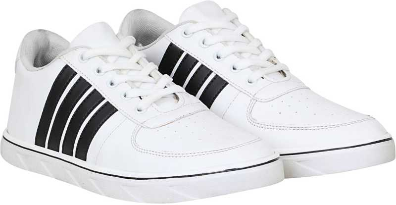 Knight Ace StyleFull Sneakers For Men (White)