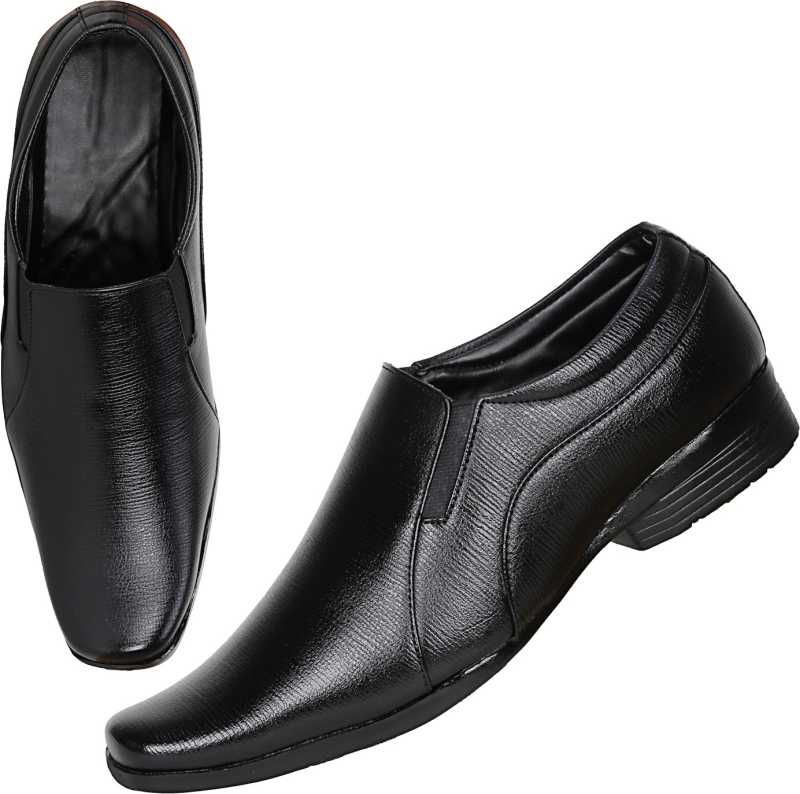 Knot n Lace Elegant Slip On For Men (Black)