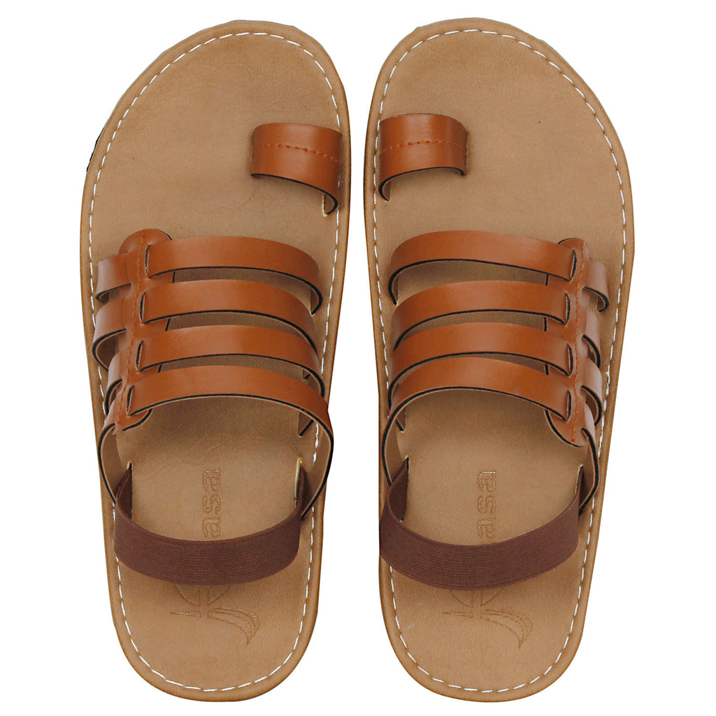 Kraasa-6010-Tan-Casual-Sandals
