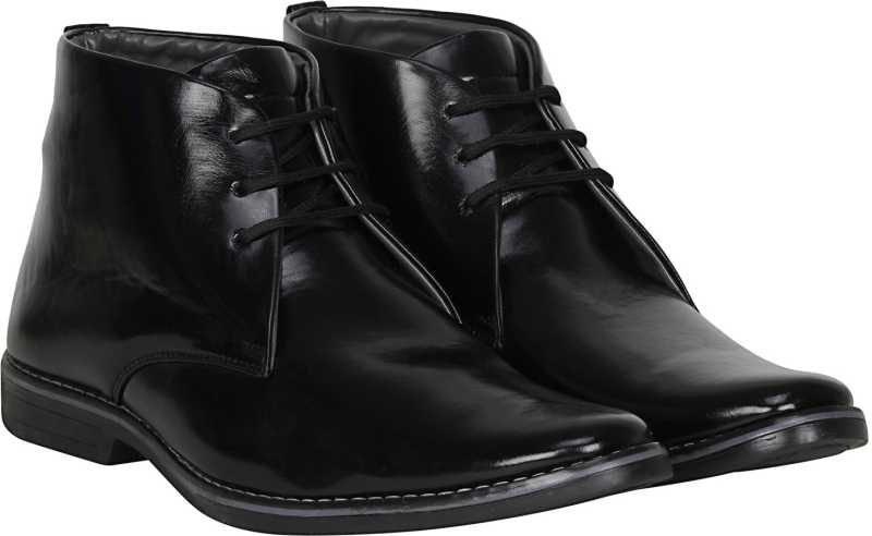 Kraasa Original Lace Up For Men (Black)