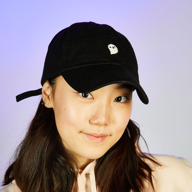 Too Many Spirits Dad Hat - Glows in the dark ghostie