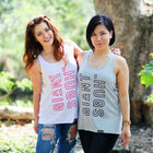 GIANT HUGS - GREY TANK TOP (LADIES)