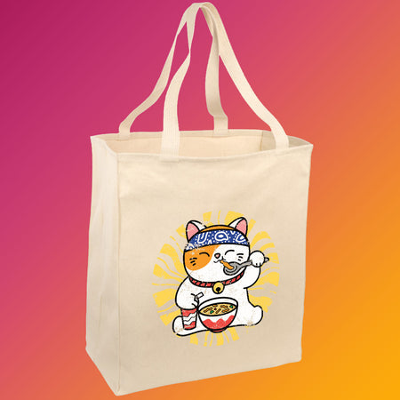 Chicken Noodle Soup Cat Tote
