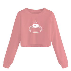 EXCLUSIVE Cropped Soondubu Sweatshirt (LADIES) -  FOR LIMITED TIME ONLY!