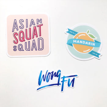 EXCLUSIVE Asian Bachelorette Sticker Pack - FOR LIMITED TIME ONLY!