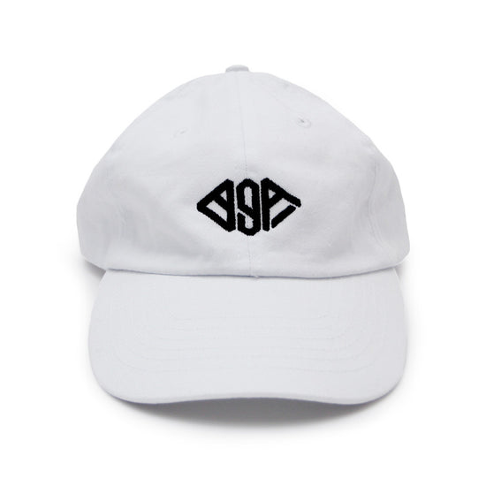 BgA White Dad Hat