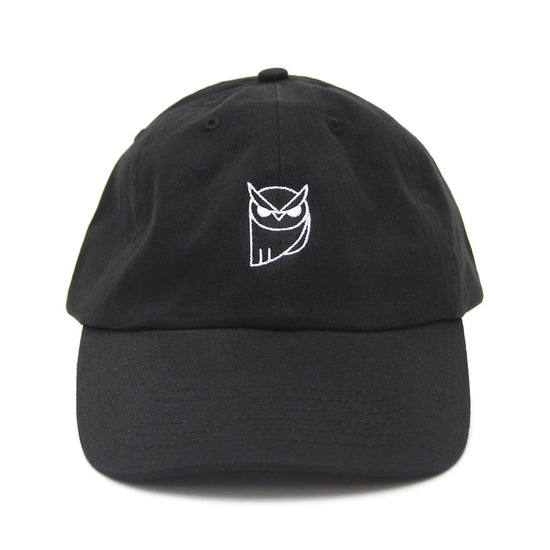 THE OWL - BLACK DAD HAT
