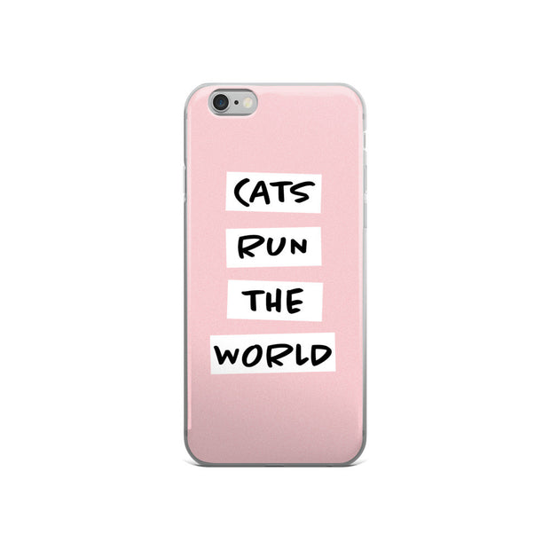 Cats Run The World! (iPhone 5/5s/Se, 6/6s, 6/6s Plus Case)