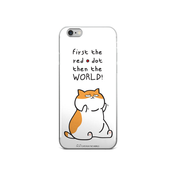 WORLD DOMINATION! (iPhone 5/5s/Se, 6/6s, 6/6s Plus White Case)