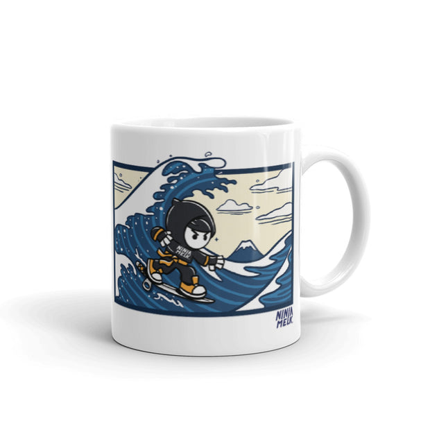 Ninja Melk - Great Wave Mug