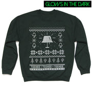 TEEHEE Glow in the Dark Holiday Sweater (UNISEX)