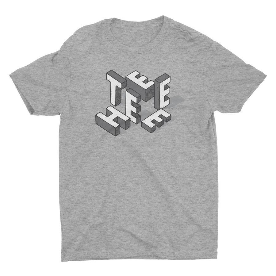 TEEHEE White Blocks (GUYS / UNISEX)
