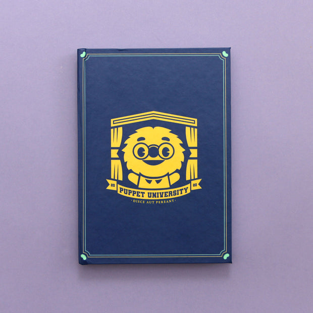 Puppet University - Hardcover Journal