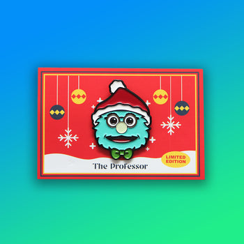 Puppet History Santa Pin - Limited Edition