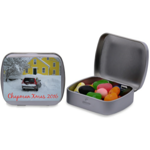 Personalized Rectangular Tin