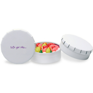 Personalized Small Snip Snap Tin