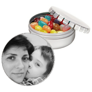 Personalized Gian Snip-Snap Tin