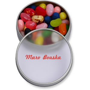 Personalized Round Candy Tin