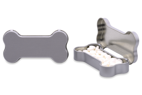 Personalized Dog Bone Container mints
