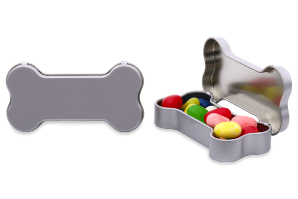 Personalized Dog Bone Container jelly belly