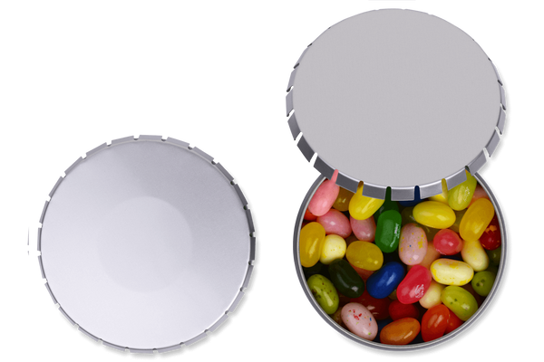 Personalized Giant Snip-Snap Tin jelly belly