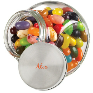 Personalized Glass Jar