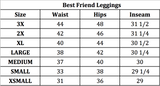 Best Friend Leggings- Black