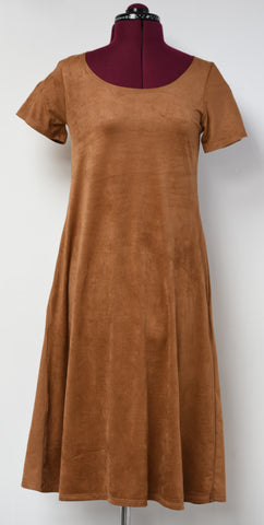 Stevie Dress- Tan Camel