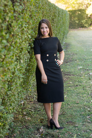 Comfortable Modest Little Black Dress