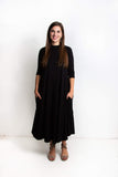 Erika Long Dress | Black