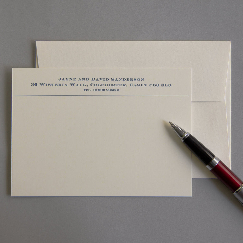 'The Chelsworth' Correspondence Cards
