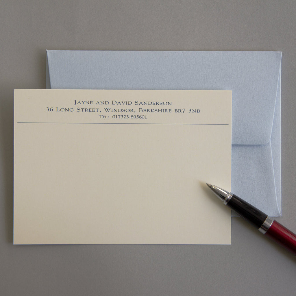'The Debenham' Correspondence Cards