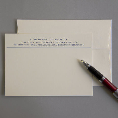 'The Dedham' Correspondence Cards