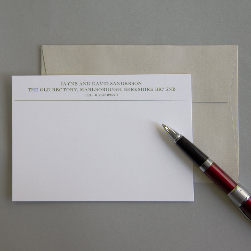 'The Elmsett' Correspondence Cards