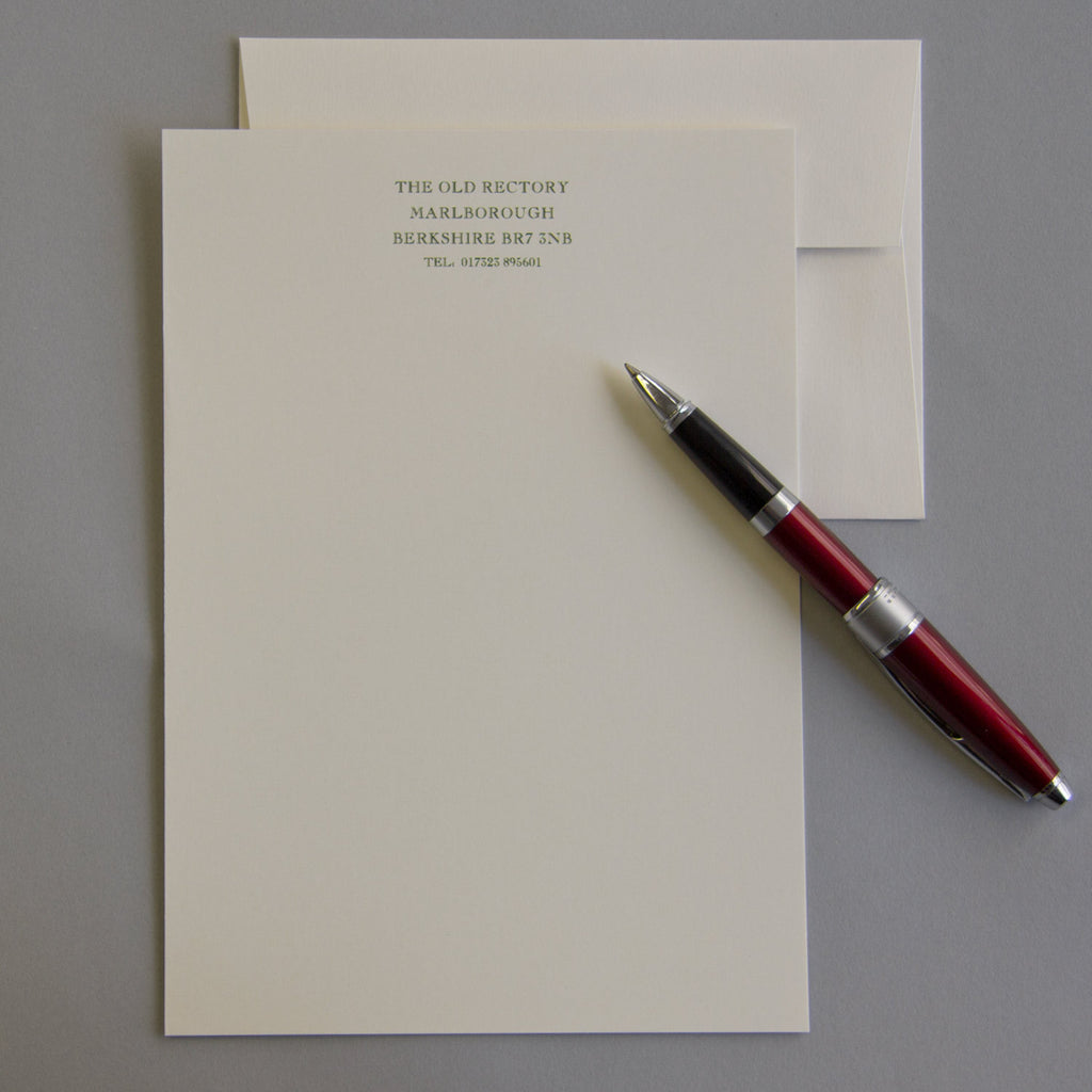 'The Elmsett' Personal Stationery