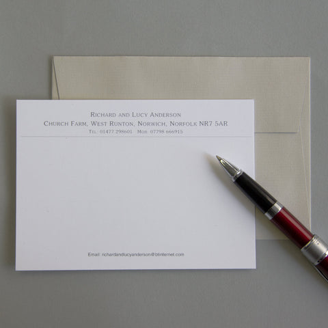 'The Hadleigh' Correspondence Cards