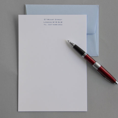 'The Layham' Personal Stationery