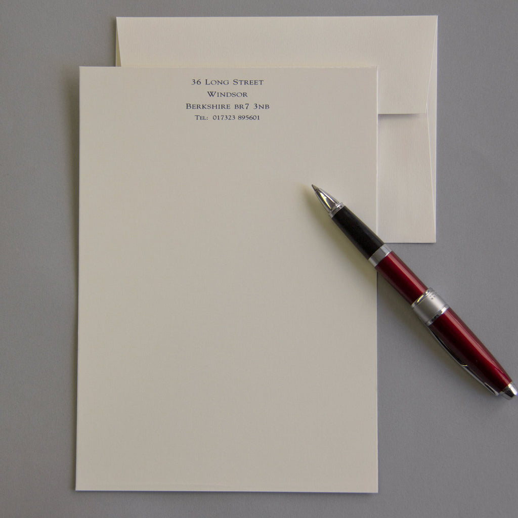 'The Southwold' Personal Stationery