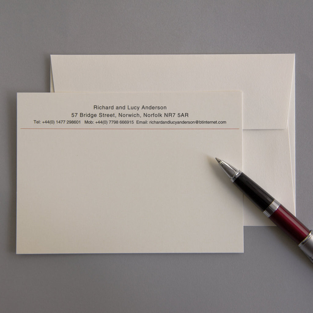 'The Stowmarket' Correspondence Cards