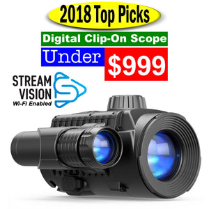 2018 Top Pick. Digital Clip-On Night Scope under $999.