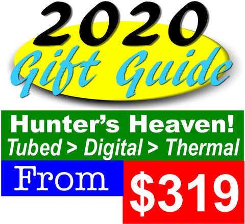 Hunting Scopes for the Serious Hunter on your gift list | Tubed | Digital | Thermal