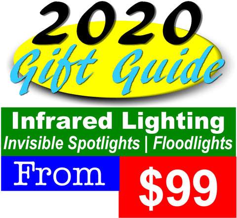 Infrared Lighting Gifts - The Perfect Night Vision Accessory