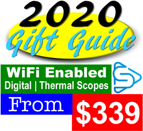 Wi-Fi Enabled Digital and Thermal Gifts for that tech-savvy person on your list!